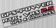 GPS-POWER RTK-VRS 2.5 & GLONASS